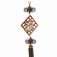 Wall Plaque with Tassel - Prosperity