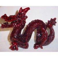 Red Resin Celestial Dragon