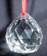 30MM Swarovski Style Crystal - Click Image to Close